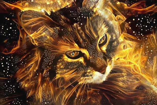 Gold Flame Masheba - Extremely Potent Wealth, Good Luck, and Career Success Magick - Most Powerful Of Familiars