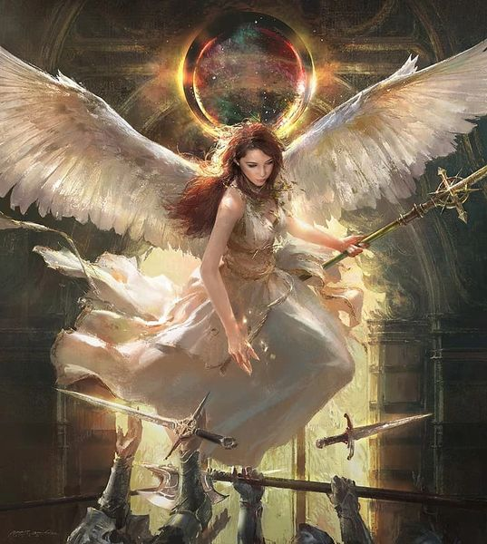 Custom Conjuring of Any Commander Angel Choose Your Race & Be Blessed - Spaces Open!