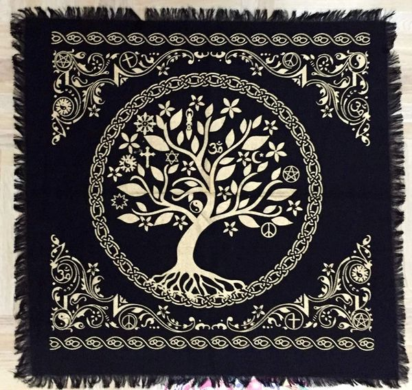 Spelled Altar Cloth - Protection, Recharging, Helps Bonding - New Style!