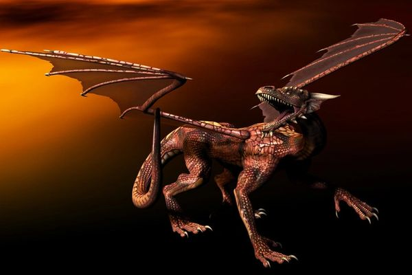 Baby Auburn Dragons ~ Sweet Entities Seeking Keeper to Allow Magickal Growth
