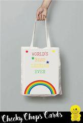 Funny Cheeky Chops Tote/Shopper/Bag/Gift - Number one Lesbian - TB26