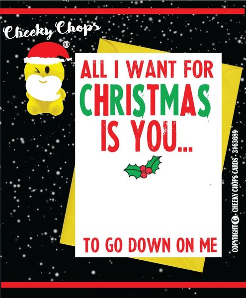 All I want - Christmas Card XM27