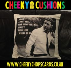 Tom Hardy - Doing Anything - Cushion Cover
