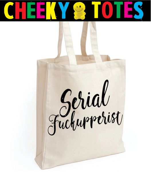 Funny Cheeky Chops Tote/Shopper/Bag/Gift - TB104 Serial