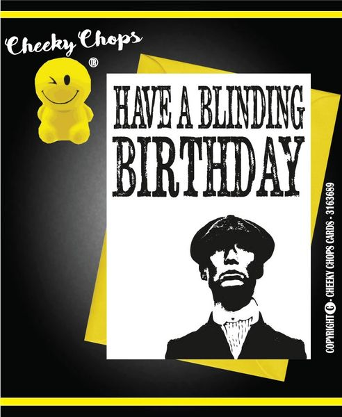 Birthday Card - Peaky Blinders C244