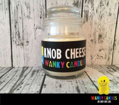 Knob Cheese - Wanky Candle - WC02
