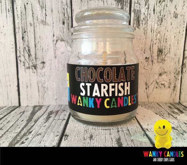 Chocolate Starfish - Wanky Candle - WC04