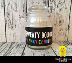 Sweaty Bollox - Wanky Candle - WC07