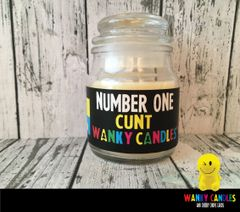 Number One Cunt - Wanky Candle - WC11