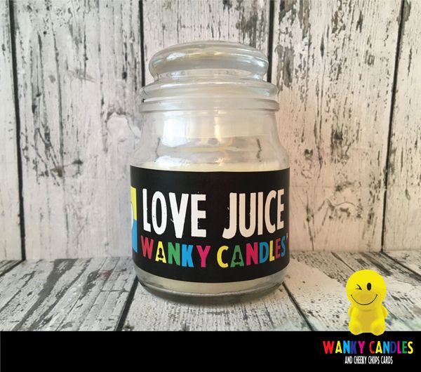 Love Juice - Wanky Candle - WC15