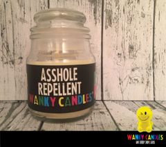 Asshole repellent - Wanky Candle - WC21