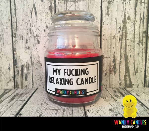 My fucking relaxing candle - Wanky Candle - WC22