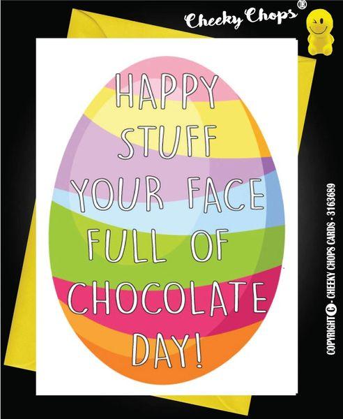 Easter Card - Chocolate E3