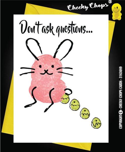 Easter Card - Chocolate E4