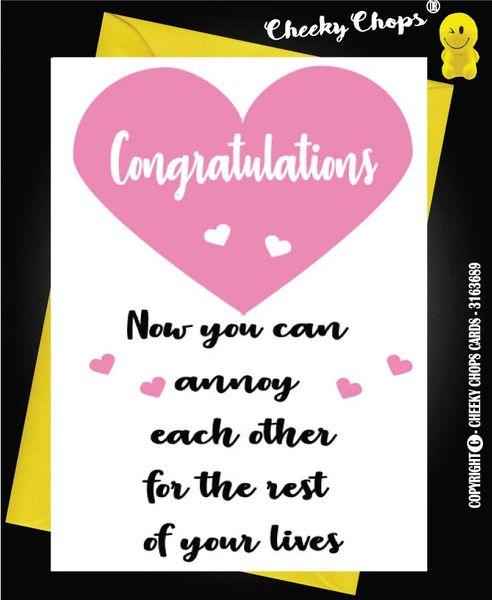 Wedding Card - Annoy W1