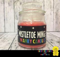 Mistletoe Minge - Christmas Wanky Candle - XMC05