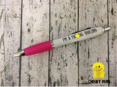 Cheeky Funny Profanity Pen - I'M A FUCKING UNICORN