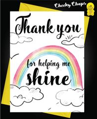 Thank you for making me shine K5