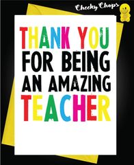 Thank you for being an amazing teacher K10