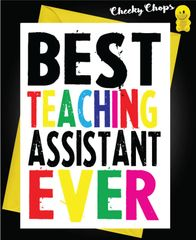 Best Teaching Assistant Ever K12