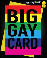 Birthday Card LGBT- Big Gay Card L4