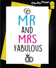 Mr and Mrs Fabulous W14