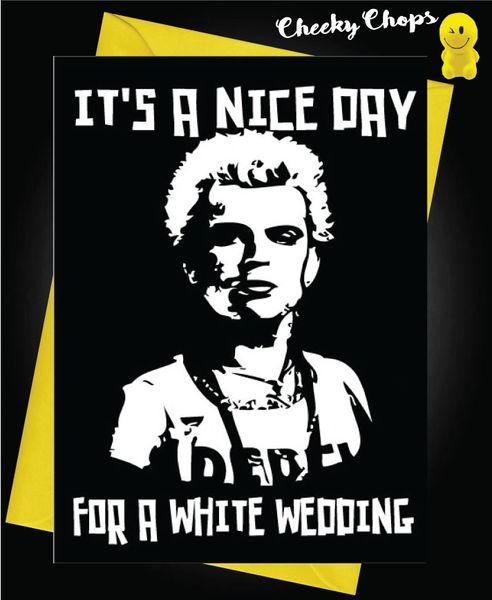 White Wedding Billy Idol.Billy Idol White Wedding W18