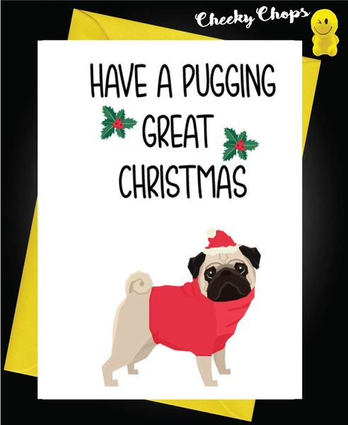 Have a pugging great Christmas XM113