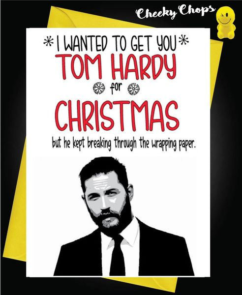 Tom Hardy Christmas Card - XM124