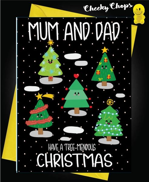 Mum and Dad - Treemendous Christmas XM127