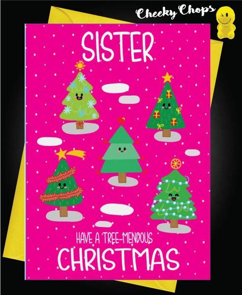 Sister - Treemendous Christmas XM128