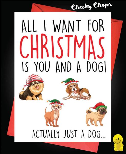 All I want for Christmas is a DOG - XM141