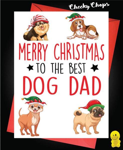 Merry Christmas Best Dog Dad XM155