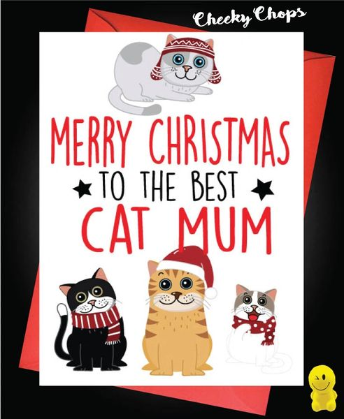 Merry Christmas Best Cat Mum XM157