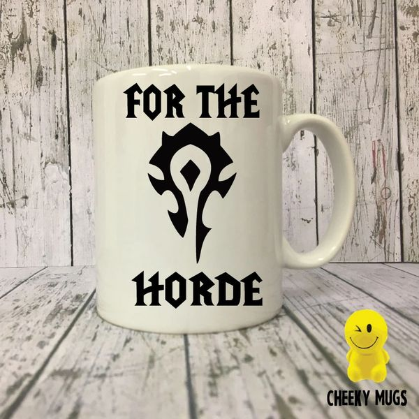 Novelty Gift Mug - For The Horde - World of Warcraft - MUG501