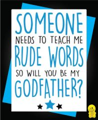 Funny Birthday Cards - Godfather C233