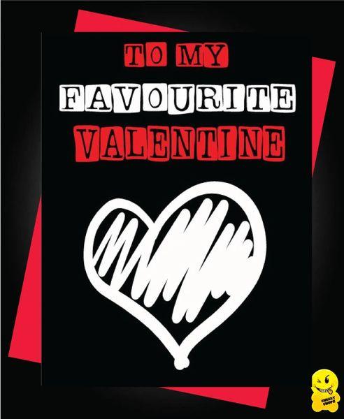 you're my favourite valentine V81