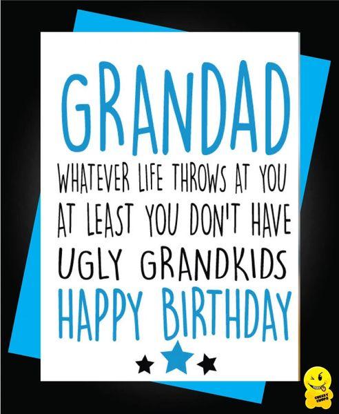 Grandad Ugly Grandchildren C275