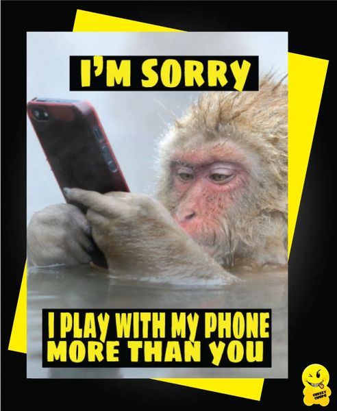 Play with my phone more than you V85