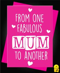 From one fabulous mum to another M1