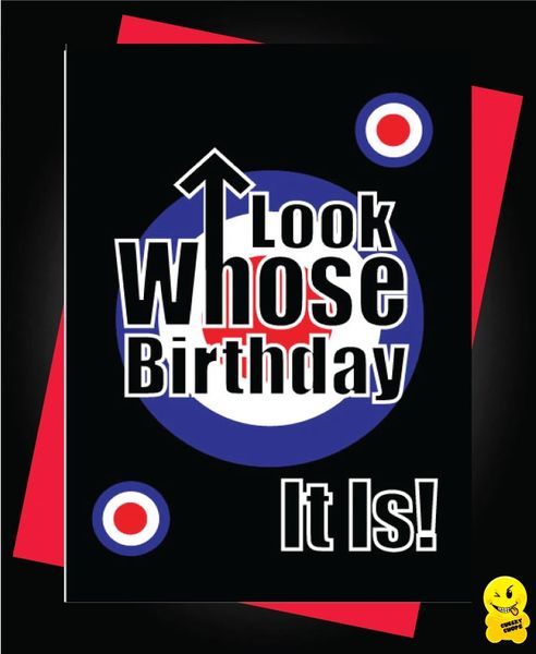 MOD THE WHO Look whose birthday it is C320