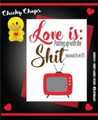 LOVE IS SHIT TV V39