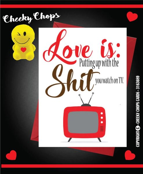 LOVE IS SHIT TV V39