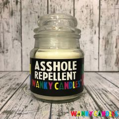Asshole repellant - Wanky Candle