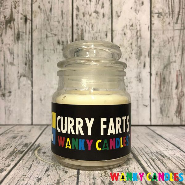 Curry Farts - Wanky Candle