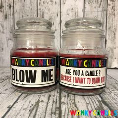 Wanky Valentine's Double Pack (Blow me/ Candle)