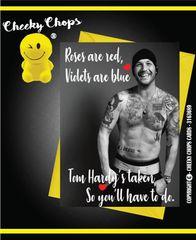Tom Hardy Birthday Valentine's cards A23
