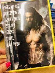 Jason Momoa Birthday Valentine's cards