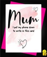 Mum put my phone down M46