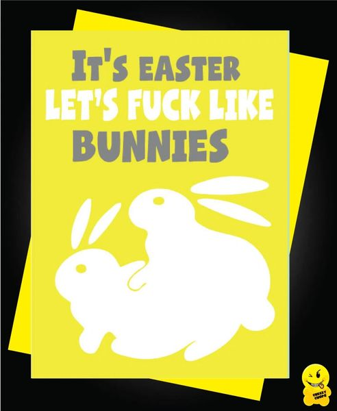 Easter Card - It's easter lets fuck like rabbits E11